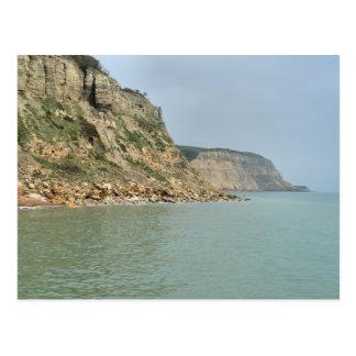 East Cliffs Hastings England Postcard