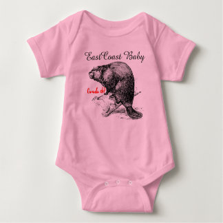 East Coast Baby beaver Canada Baby Bodysuit