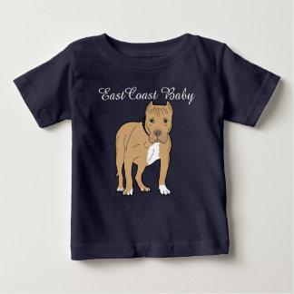 East Coast Baby cute puppy dog amstaff Infant T-shirt