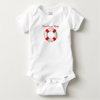 East Coast Baby Life preserver cute one piece Baby Onesie