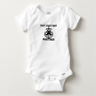 East Coast Baby Maritimer anchor octopus Baby Onesie