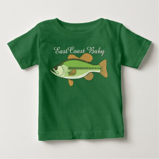 East Coast Baby sea bass fish Baby T-Shirt