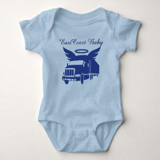 East Coast Baby tractor tailor eighteen wheeler Shirt