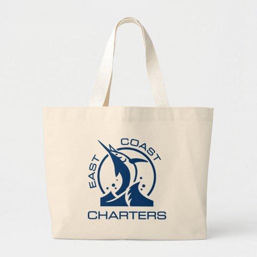 East Coast Charters Jumbo Tote Bag