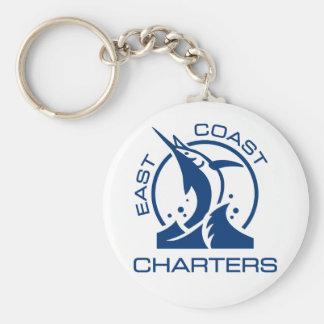 East Coast Charters Keychain