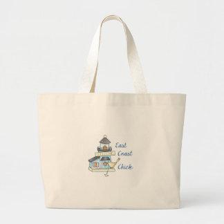 East Coast Chick Large Tote Bag
