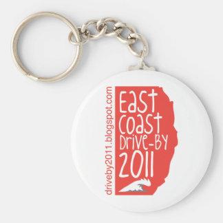 East Coast Drive By 2011 Keychain