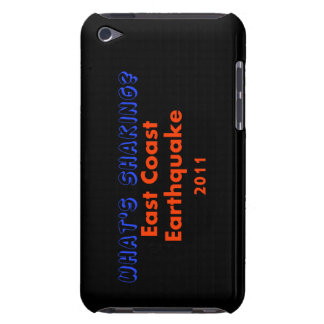 East Coast Earthquake - What's Shaking? iPod Touch Case-Mate Case