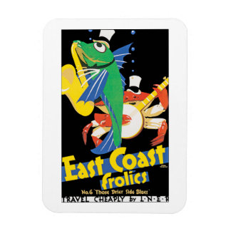 East Coast Frolics Magnet