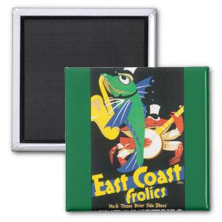 East Coast Frolics Magnet