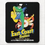 East Coast Frolics Mouse Pads