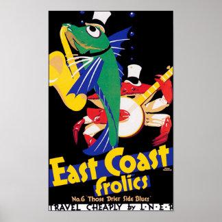 East Coast Frolics, No. 6 Poster