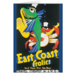 East Coast Frolics Vintage Travel Poster