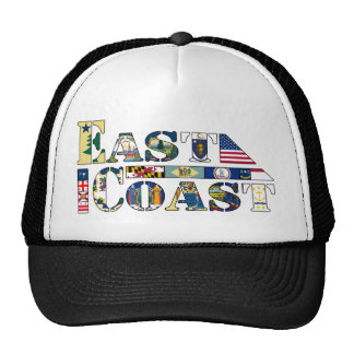 East Coast Letter Flags [USA][Requested REV] Trucker Hat