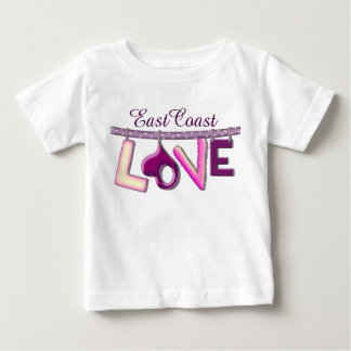 East Coast love Custom Baby Shirt