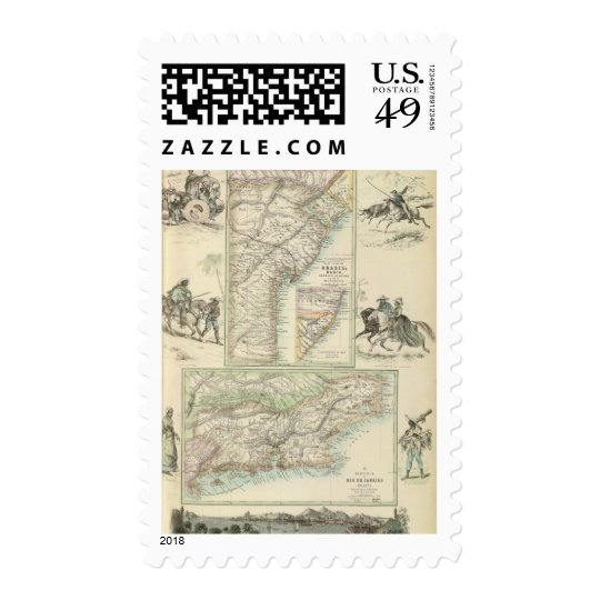 East Coast of South America, Brazil Postage