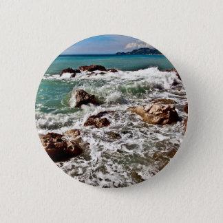 East coast on the island Sicily Button