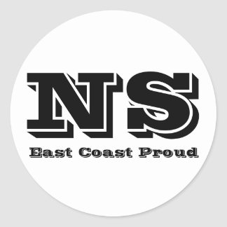 East Coast Proud Nova Scotia Sticker