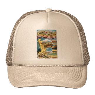 east coast route trucker hat