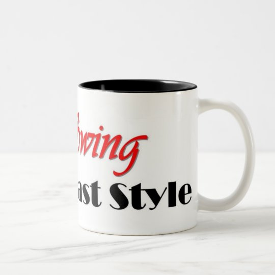 """East Coast Swing"" Two-Tone Coffee Mug"