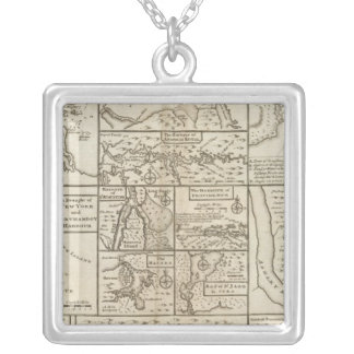 East Coast, US Silver Plated Necklace