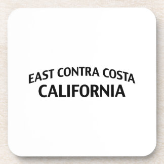 East Contra Costa California Drink Coaster