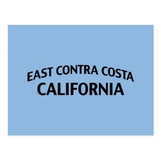 East Contra Costa California Postcard