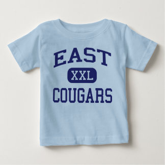 East Cougars Middle Braintree Massachusetts Baby T-Shirt