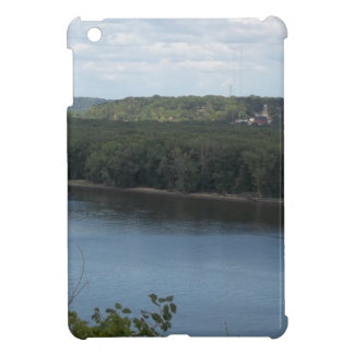 East Dubuque on the Mississippi River iPad Mini Case