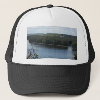 East Dubuque on the Mississippi River Trucker Hat