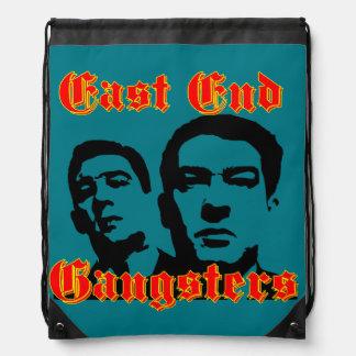 East End  Gangster Drawstring Bag