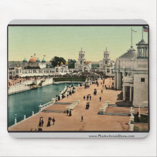 East end of Grand Court classic Photochrom Mouse Pad