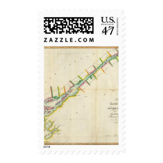 EaSt. End of Lake Ontario and River St. Lawrence Postage
