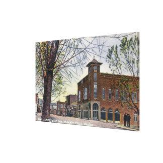 East End View of Main StreetKlamath Falls, OR Canvas Print