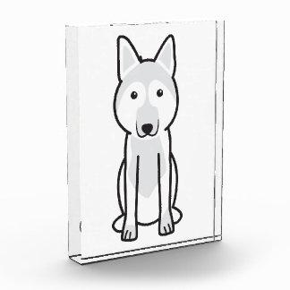 East European Shepherd Dog Cartoon Acrylic Award