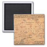 East Farthing 2 Inch Square Magnet