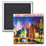 EAST FLANDER BELGIUM  Magnet BY Moji Okubule