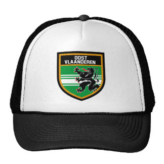 East Flanders Flag Trucker Hat