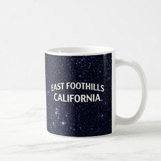 East Foothills California Coffee Mug