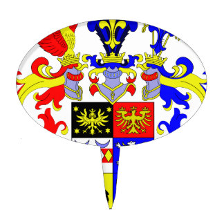 East Frisia (Germany) Coat of Arms Cake Topper