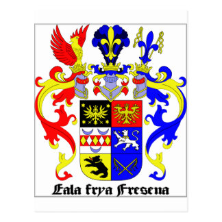 East Frisia (Germany) Coat of Arms Postcard