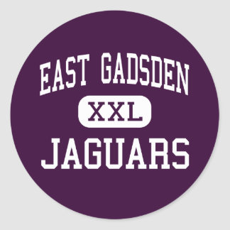 East Gadsden - Jaguars - High - Havana Florida Classic Round Sticker