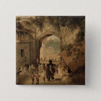 East Gateway, Patna, 1825 (oil on canvas) Button