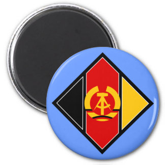 East German Airforce Insignia 2 Inch Round Magnet