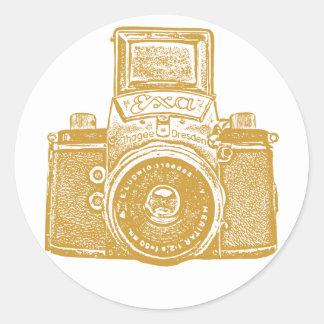 East German Camera - Caramel Brown Stickers