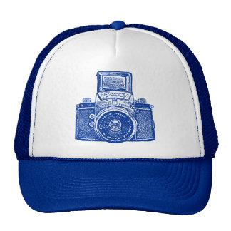 East German Camera - Dark Blue Trucker Hat