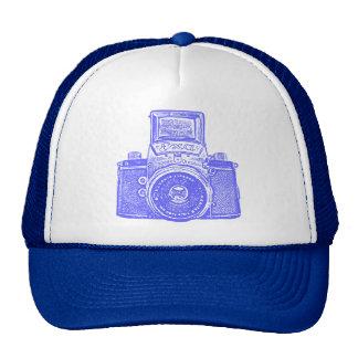 East German Camera - Elecric Blue Trucker Hat