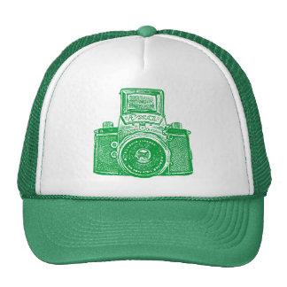 East German Camera - Grass Green Trucker Hat