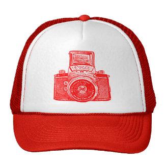 East German Camera - Red Trucker Hat