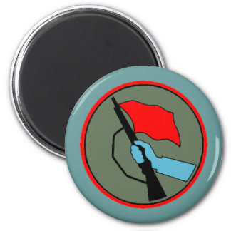 East German Combat Groups of The Working Class 2 Inch Round Magnet